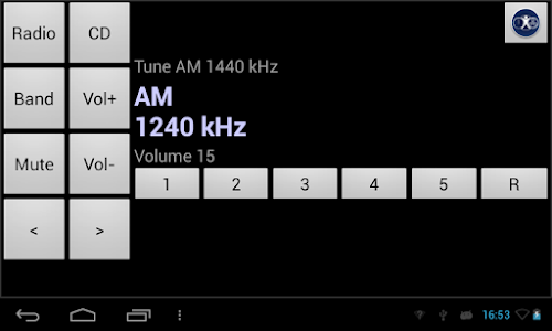 Radio Tuning Task screenshot 2