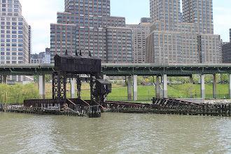 Photo: 69th Street Transfer Bridge, or what remains of it. The National Register of Historic Places 2003