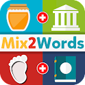 Mix 2 Words Free: 2 Pics Guess icon