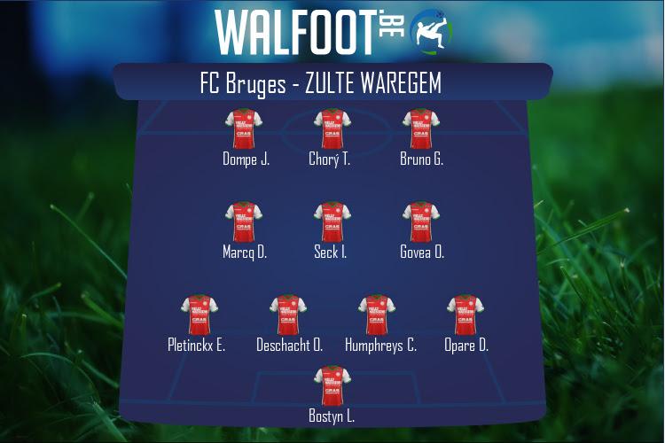 Zulte Waregem (FC Bruges - Zulte Waregem)