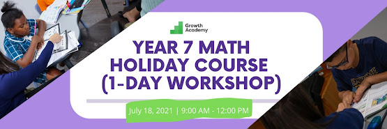 Year 7 Math Holiday Course (1-day online workshop)