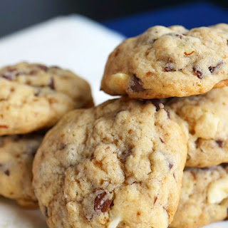 Chocolate Chip & Almond Cookies