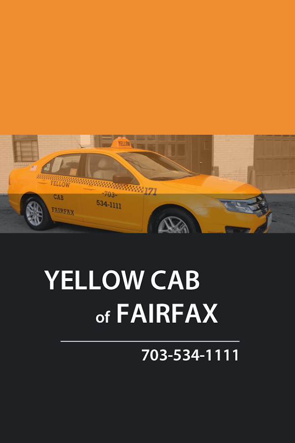 Fairfax Yellow Cab - Android Apps on Google Play