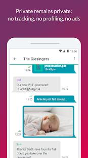 App ginlo (SIMSme Private) APK for Windows Phone