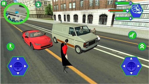 Télécharger Gratuit Super Rope Hero: Gangster Grand City APK MOD (Astuce) screenshots 1