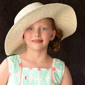 little ones by Jody Jedlicka - Babies & Children Child Portraits ( queen, midwest, fair, hat, derby,  )