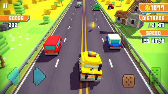 Blocky Highway: Traffic Racing App Latest Version Download For Android and iPhone 5