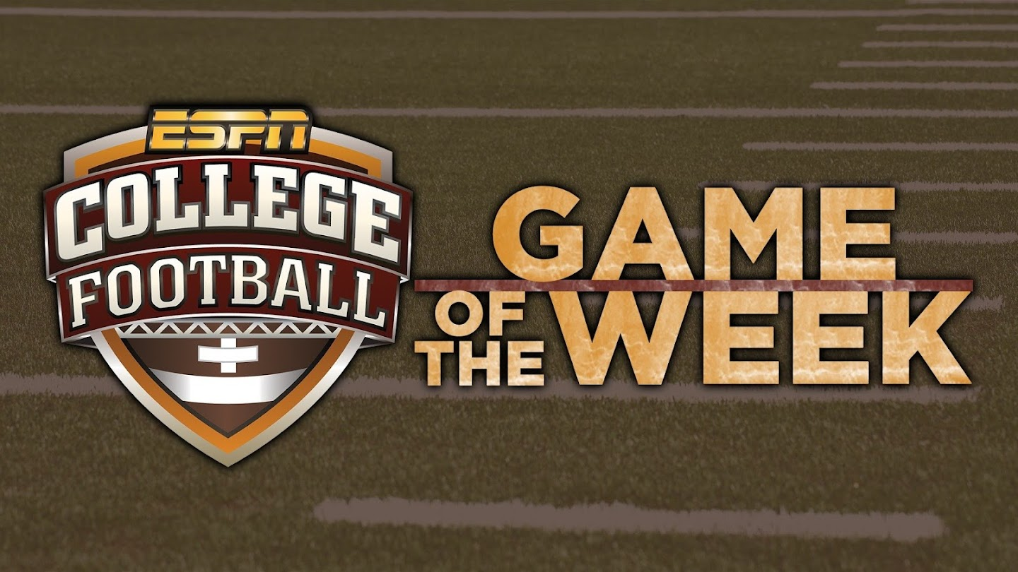 Watch College Football: Game of the Week live