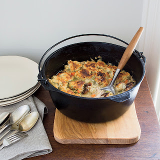 Chicken and Biscuits in a Pot