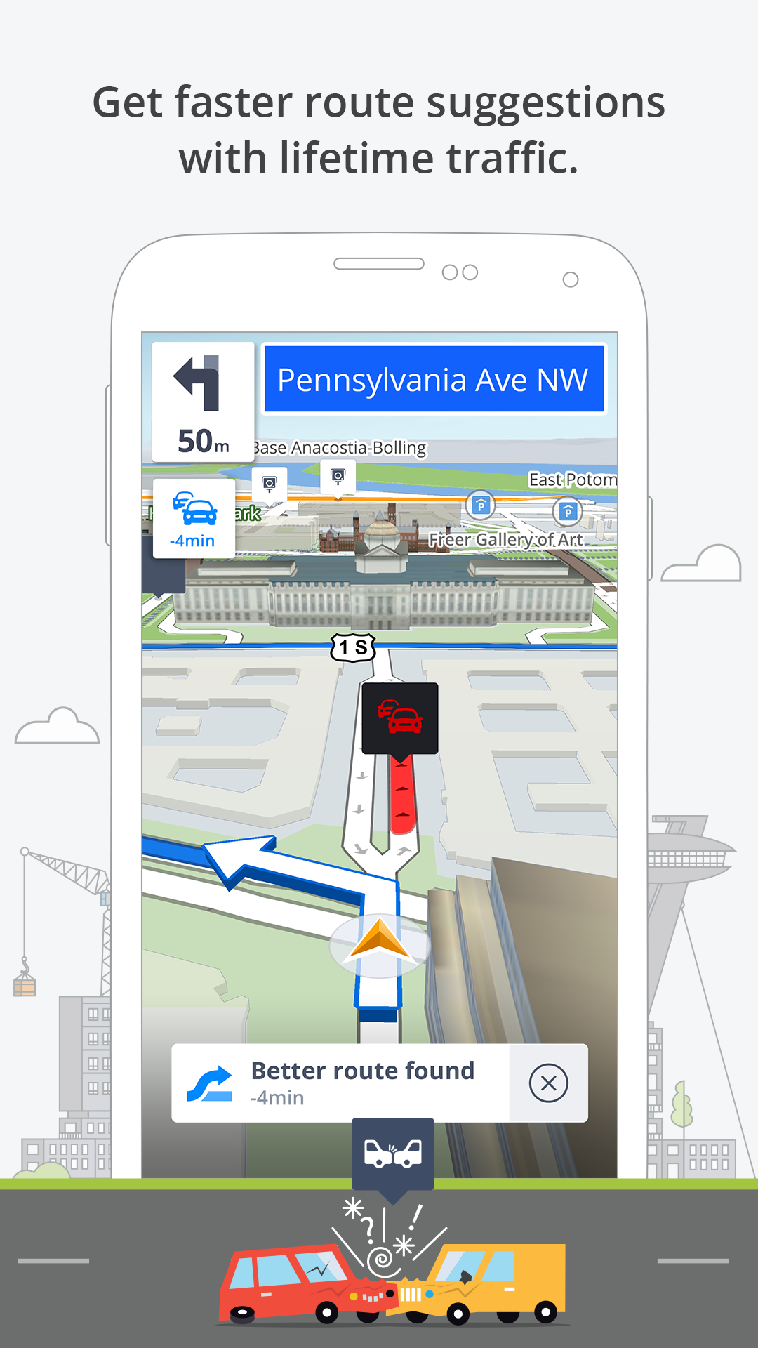 GPS Navigation & Maps Sygic screenshot #3