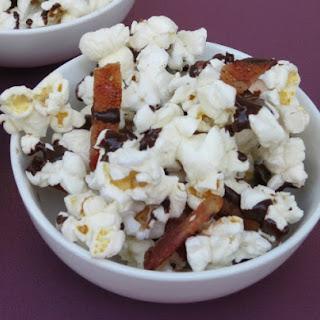 Dark Chocolate and Bacon Popcorn