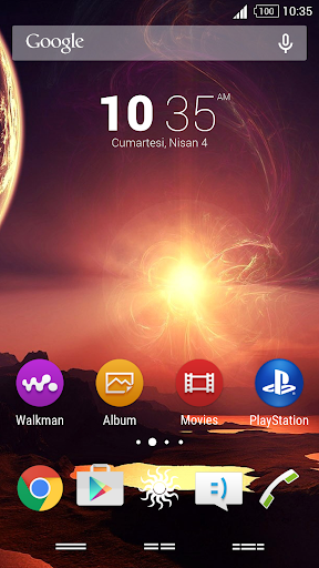 For Xperia Theme Sunset