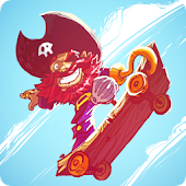 Skating Pirate