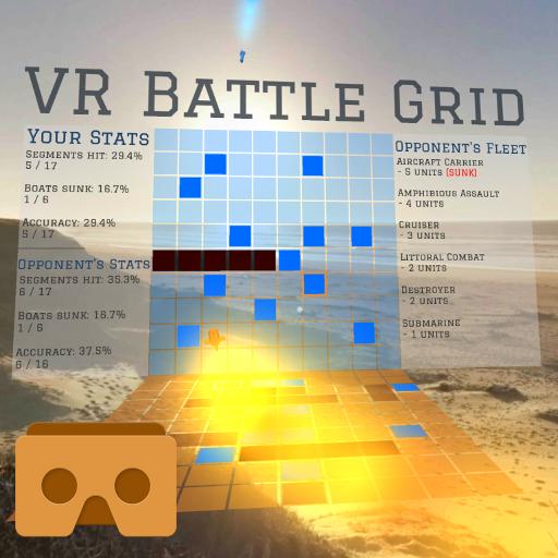 策略のVR Battle Grid (Cardboard) LOGO-記事Game