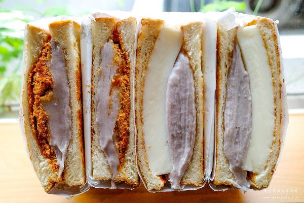 一開幕就備受注目!台北人氣早餐店,芋泥系列吐司大爆紅~滿樂鐵板吐司