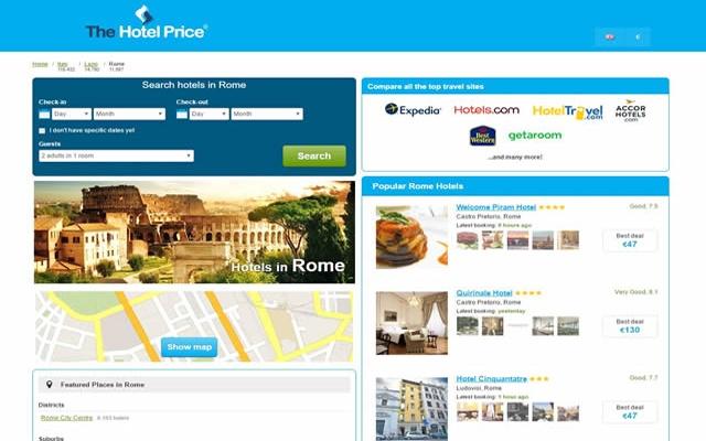 Best Hotel Deals in Rome - Hotel Finder