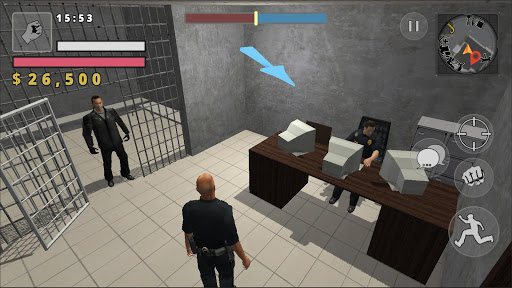 Police Cop Simulator. Gang War apkmr screenshots 7