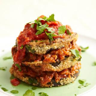 Eggplant Tomato Stacks Recipe