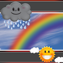 Rainbow Clock And Weather icon