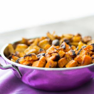 The Best Roasted Vegetables with Moroccan Date Sauce.