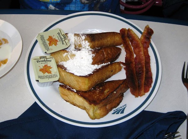 Train Dining Car French Toast Recipe