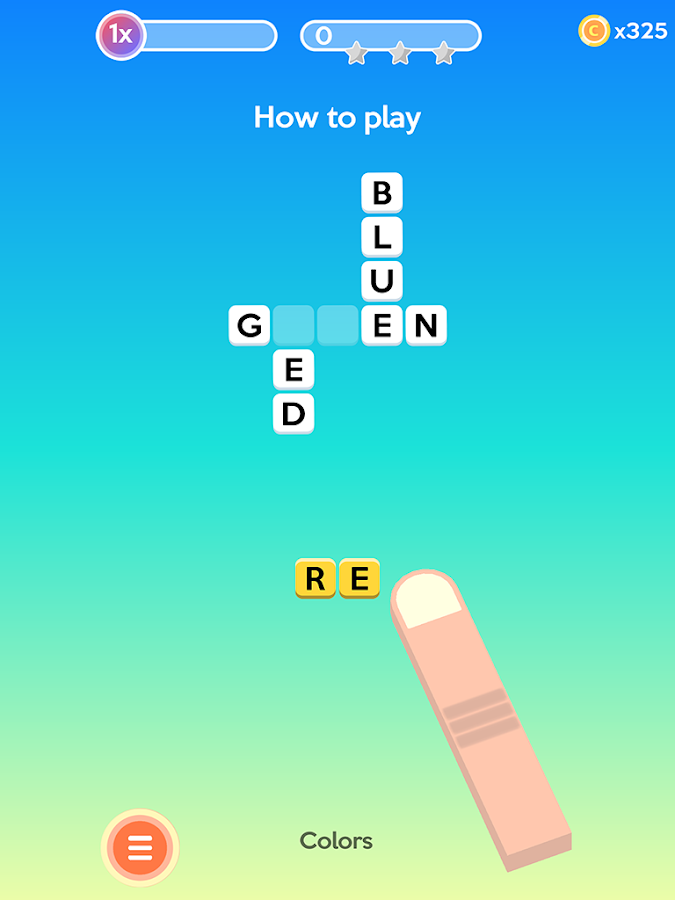 Letter Bounce - Word Puzzles- screenshot