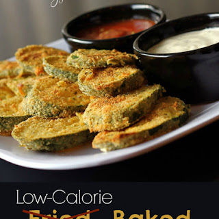 Low-Cal Fried (Baked) Zucchini