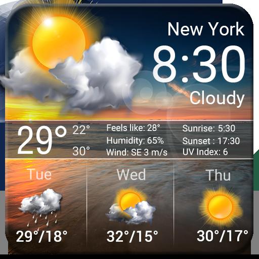 Storm & Rain Radar Weather App