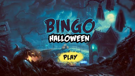 Bingo Halloween - náhled