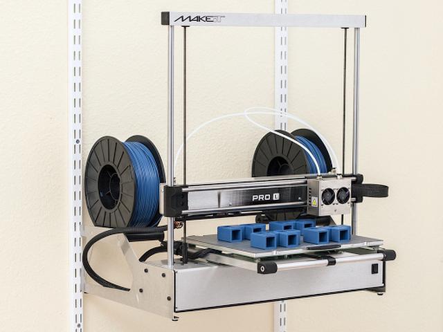 CLEARANCE - MAKEiT PRO-L High Resolution Dual Extruder 3D Printer