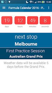 Formula Calendar 2016 PRO v1.2