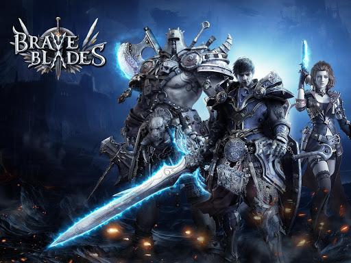 Télécharger Brave Blades: Discord War 3D Action Fantasy MMORPG APK MOD (Astuce) screenshots 1