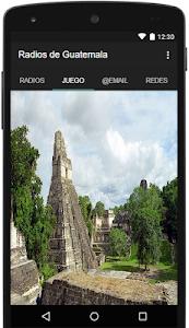 Radios de Guatemala Gratis screenshot 1