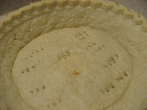 Prepare pie  crust according to directions or make your own  or use...