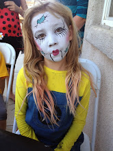Photo: Porcelain Doll face paint by Tess in Fontana, Ca. Call to Book Tess at 888-750-7024
