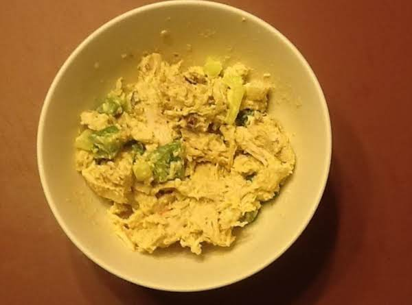 Low Carb Dijon Chicken Salad Recipe