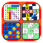 Puzzle book - Words & Number Games
