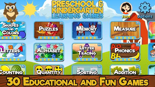 Preschool and Kindergarten Learning Games 6.1 screenshots 1