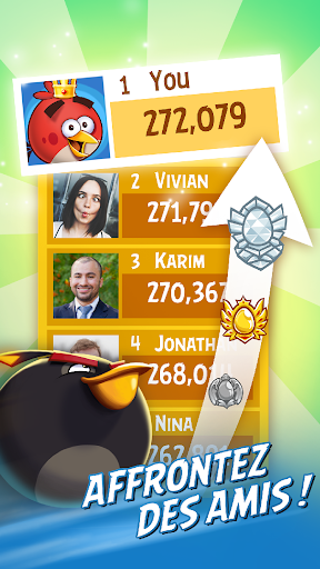 Angry Birds Friends  captures d'écran 2