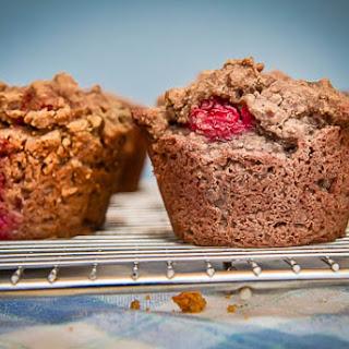 Gluten-free Raspberry Oat Muffins