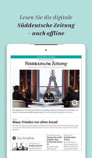 Süddeutsche Zeitung Zeitungsapp 4.1 screenshots 15