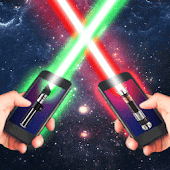 Laser Lightsaber Battle