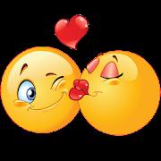 Kiss Emoji - Couple Kiss Stickers