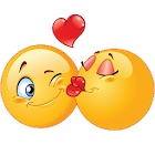 Kiss Emoji - Couple Kiss Stickers