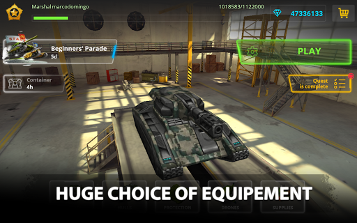 Tanki Online - PvP tank shooter apkpoly screenshots 14