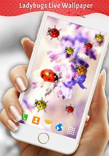Ladybugs Live Wallpaper - náhled