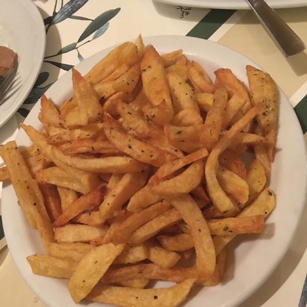 The best French fries we have ever had! Just perfect...