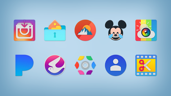 NOU - Icon Pack Screenshot