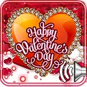 Greetings Valentine Day icon