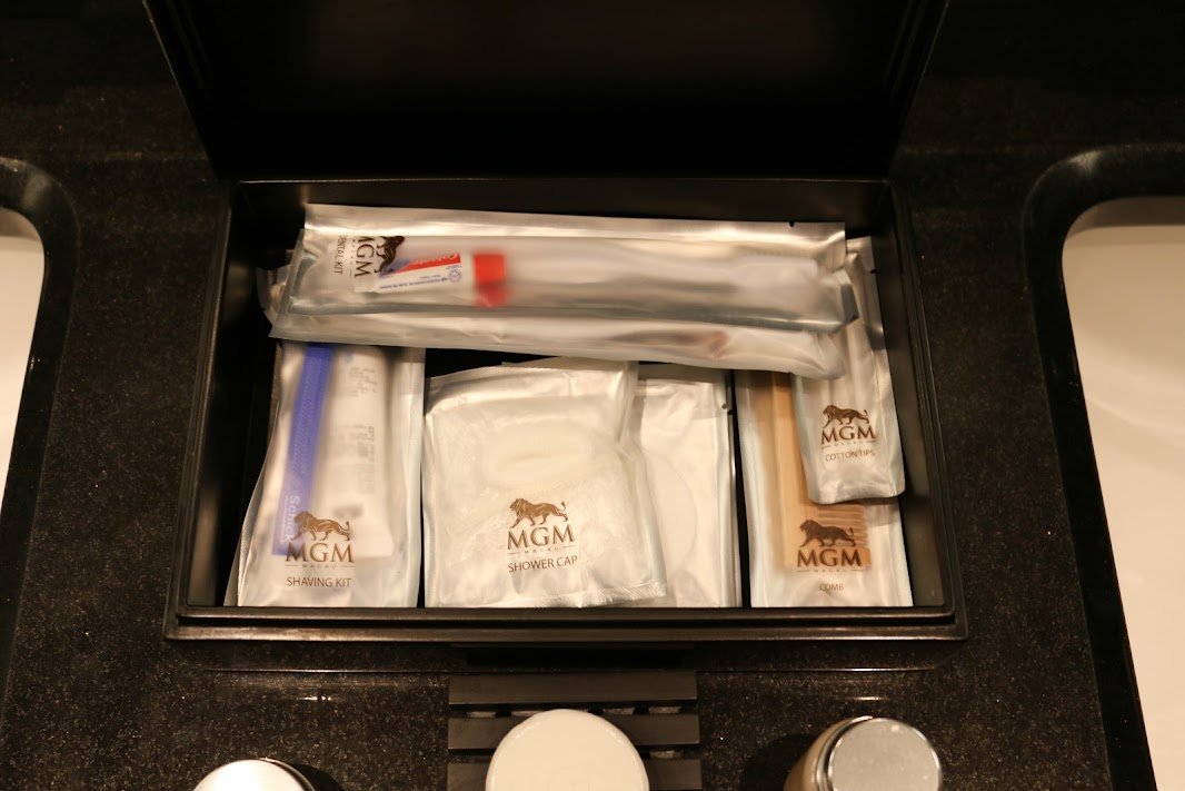 Amenities at the MGM Macau